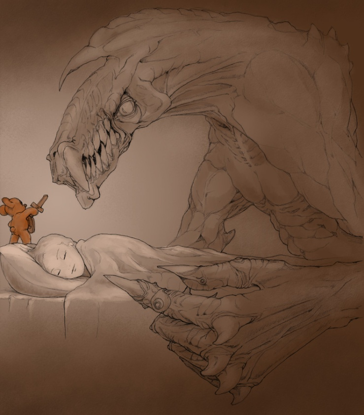 Teddy Bear Defends Child